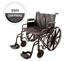 ProBasics K7 Bariatric  Manual Wheelchair With Swing Away Le
