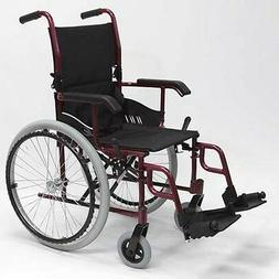Karman 24 pounds LT-980 Ultra Lightweight Folding Wheelchair