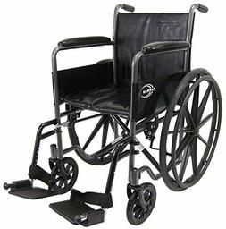 Karman Healthcare KN-800T Deluxe Standard Wheelchair with Fi