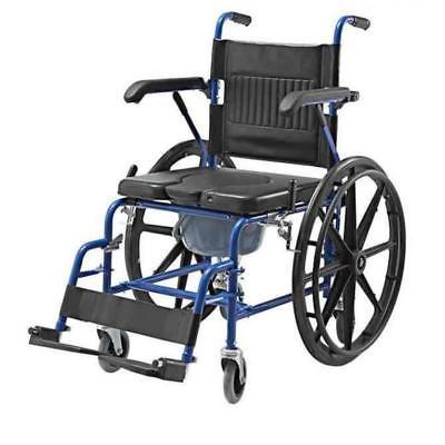 2 in1 self propel commode wheelchair 18