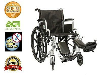 20 lightweight manual wheelchair folding detachable arms