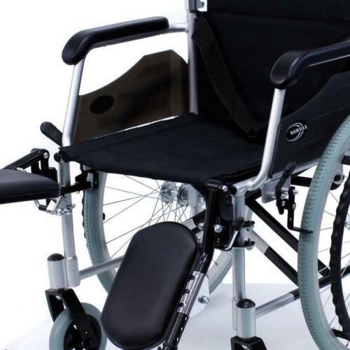 "24 Lbs Lightweight Elevating 18"" Silver Medical Mobility"