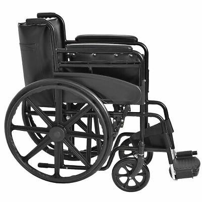 Goplus Lightweight Medical Wheelchair w/ Footrest FDA