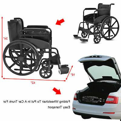 Goplus Medical Wheelchair FDA