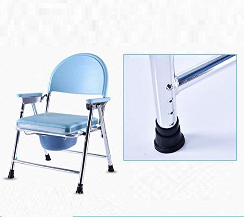 Bedside Commode Folding Toilet Health and Household Raised Seat