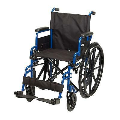 Blue Streak Wheelchair Flip Back Desk Arms Swing Away Footre