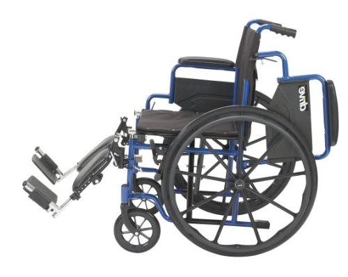 Drive Medical Wheelchair with Desk Rests, Seat