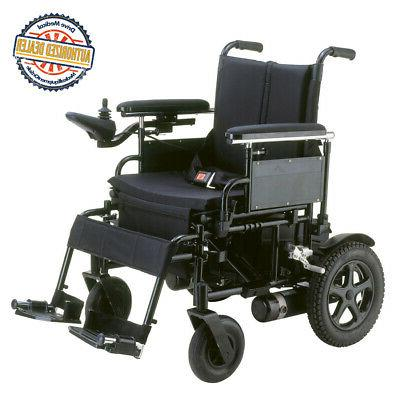 Cirrus Plus Folding Power Wheelchair with Footrest