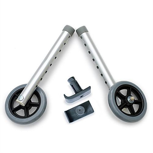 deluxe universal walker wheel kit