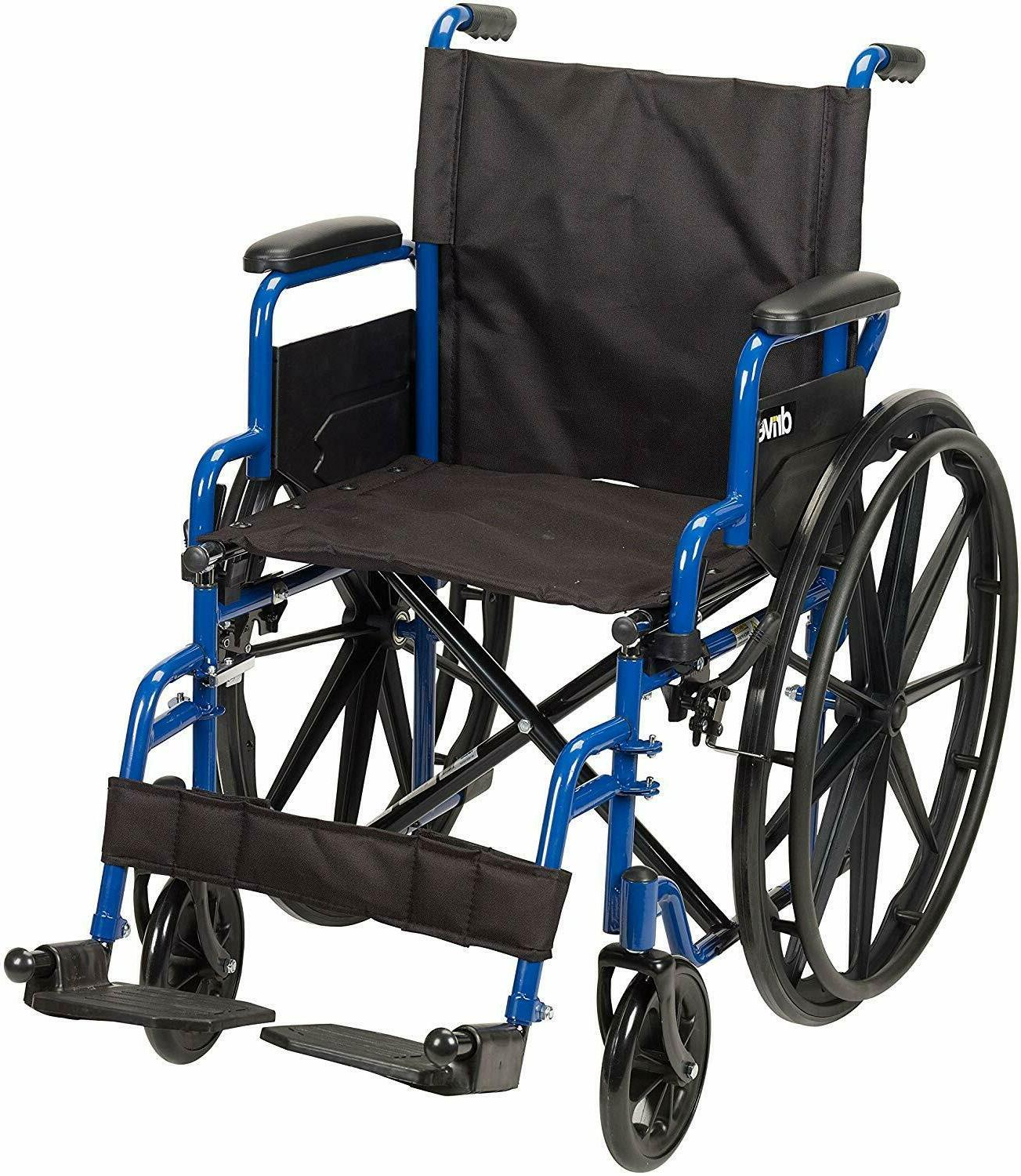 Drive Blue Wheelchair Desk Arms, Away
