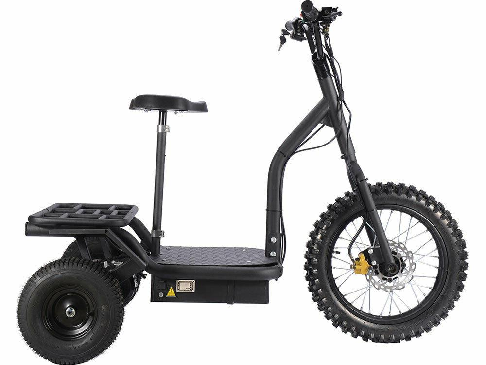 Electric Power Off Road Trike 3 Wheel Scooter Hunting Golf K