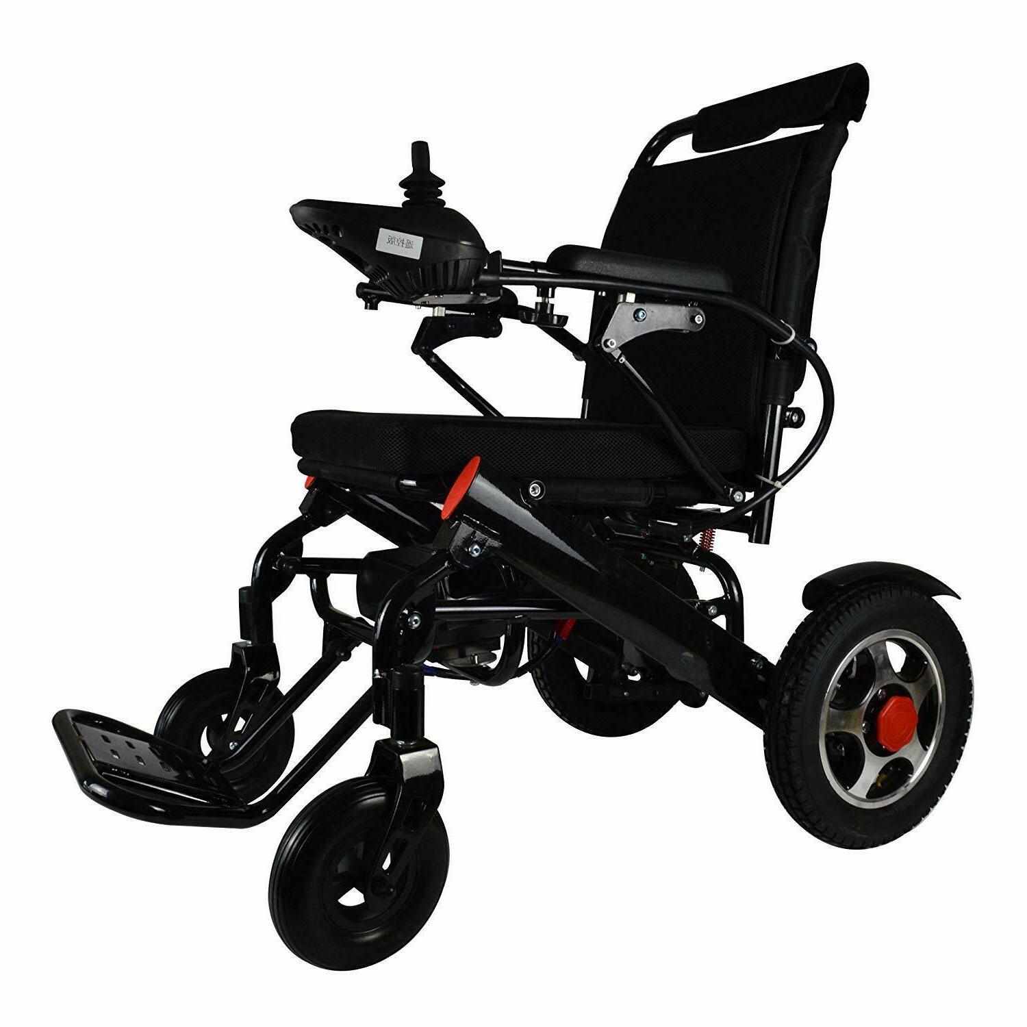 Electric Wheelchair Lightweight Medical Mobility Aid Motorized