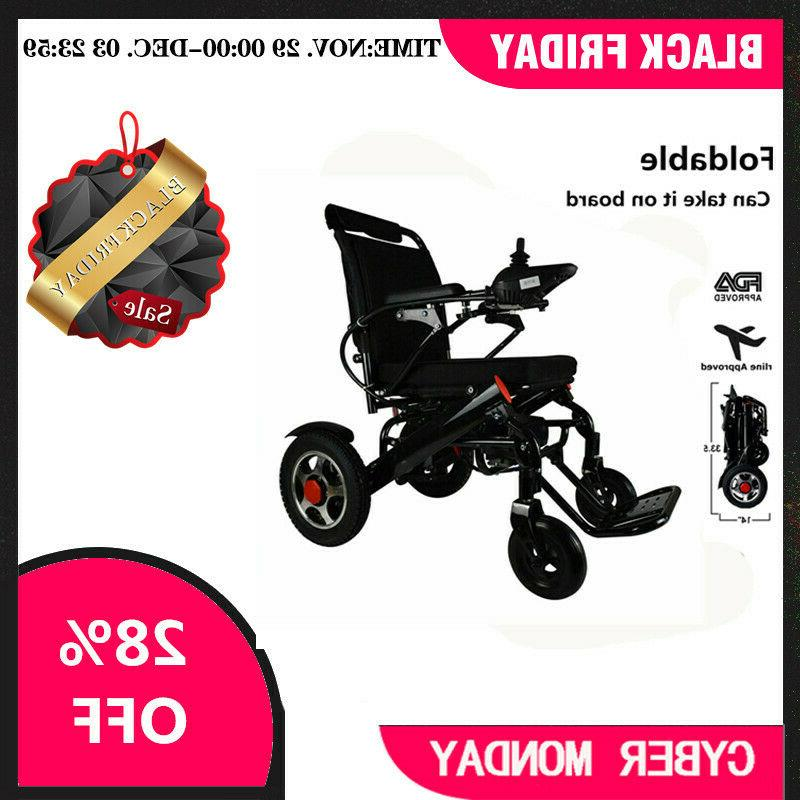 electric power wheelchair folding lightweight medical mobili