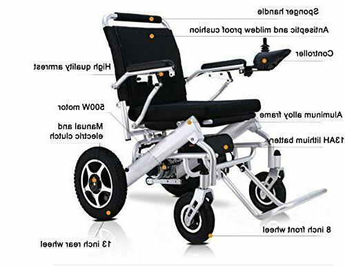 Electric Power Wheelchair Motorized