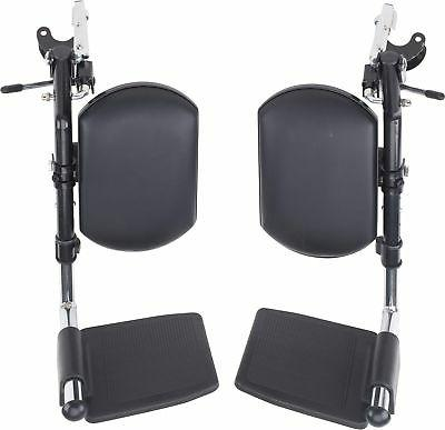elevating legrest for drive wheelchairs 1 pair