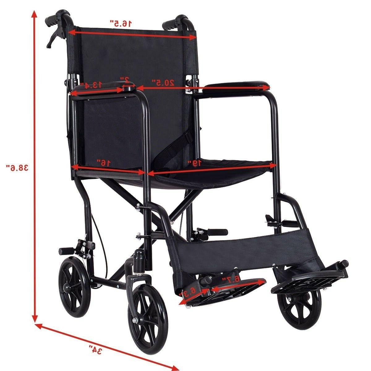 Foldable Lightweight Manual Medical Wide Hand Brakes