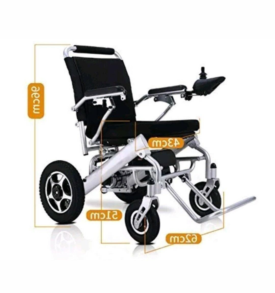 Folding Electric Wheelchair Medical Aid Motorized