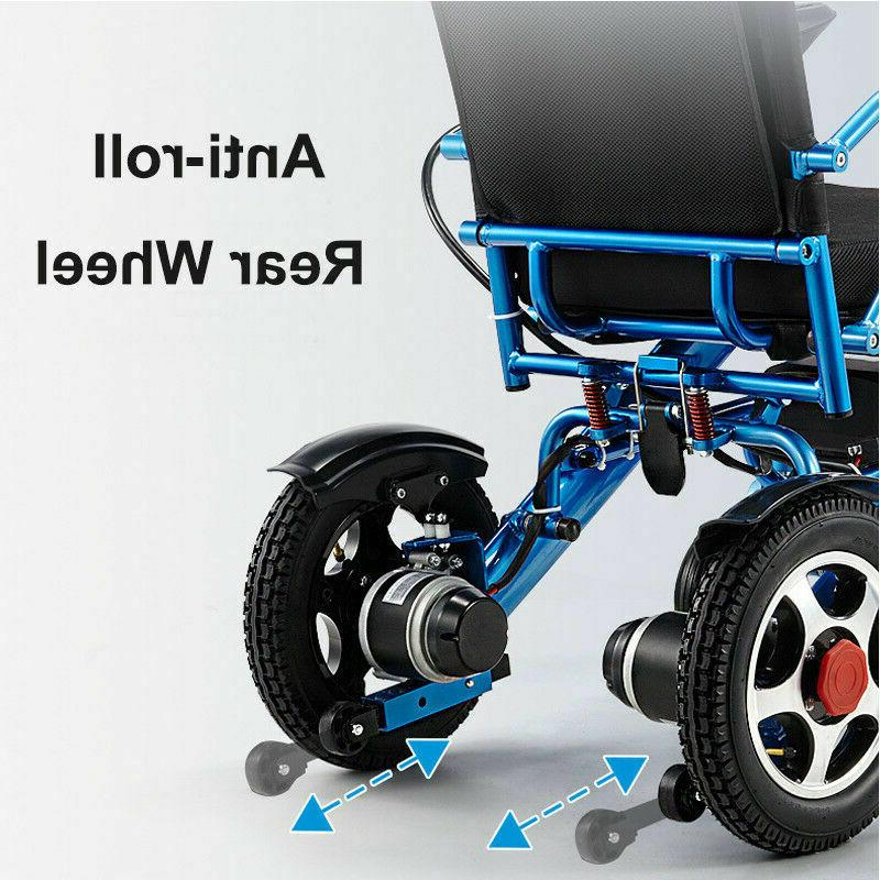 Folding Lightweight Electric Wheelchair Medical Motorized