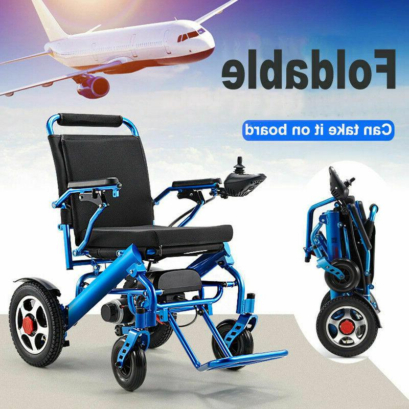 Folding Lightweight Electric Power Wheelchair Medical Mobili