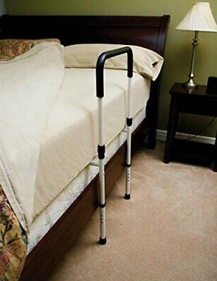 Essential Supply Height Adjustable Hand Bed Rail with Floor