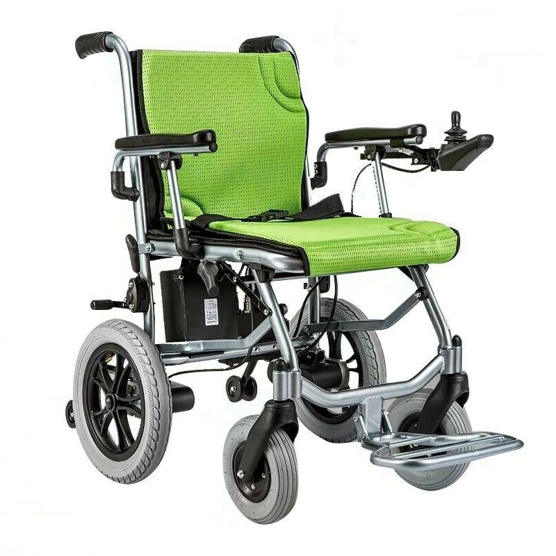 Foldable Lightweight Portable Power Wheelchair Mobility Aid Motorized