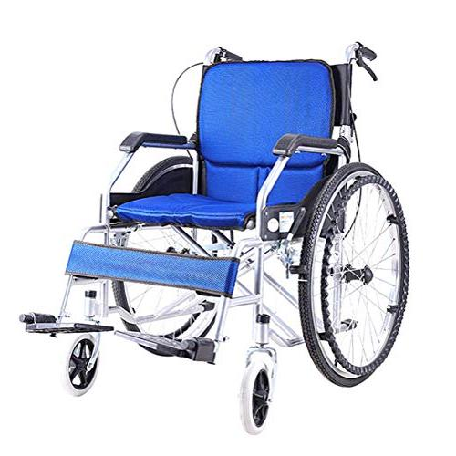 household folding aluminum alloy wheelchair