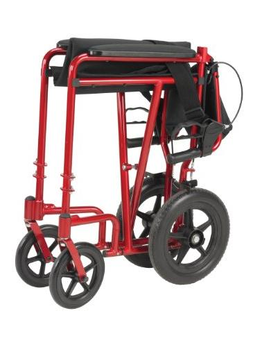 Drive Medical Transport Wheelchair Brakes,
