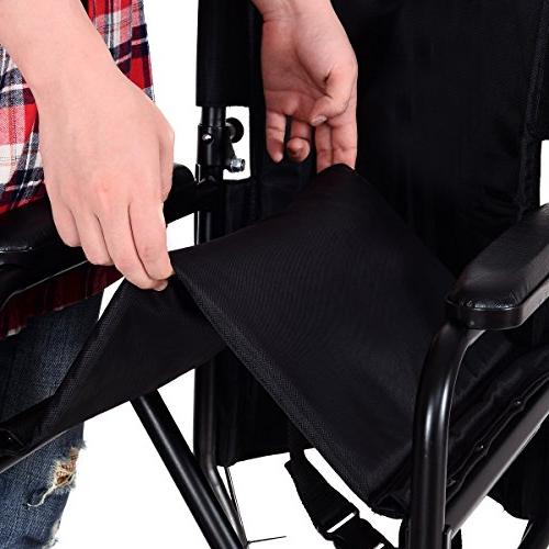 Wheelchair, Wide Seat, with