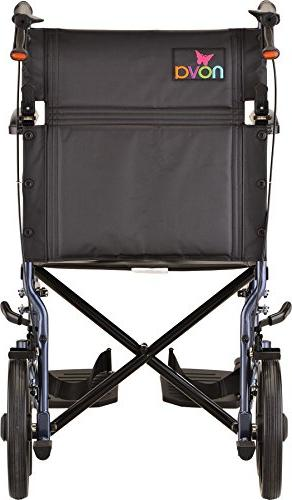 NOVA Lightweight Chair with Full Length Padded Blue