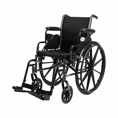 lightweight wheelchair steel 16 w swing away