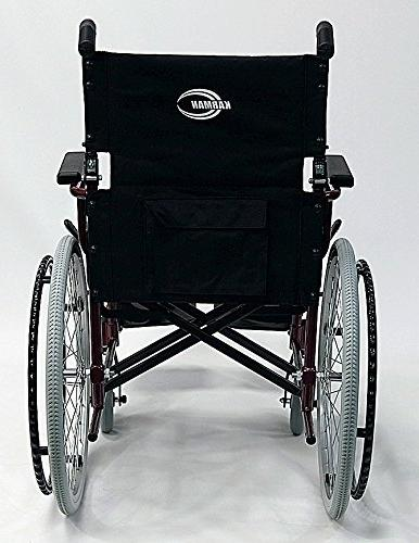 Karman 24 Pound Ultra Lightweight Wheelchair In with Elevating Leg