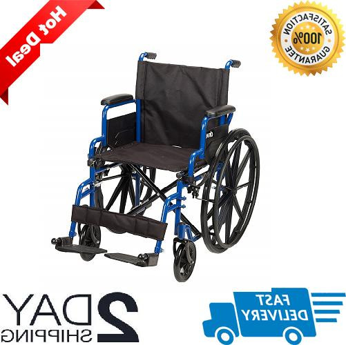 medical wheelchair lightweight manual mobility wheel chair