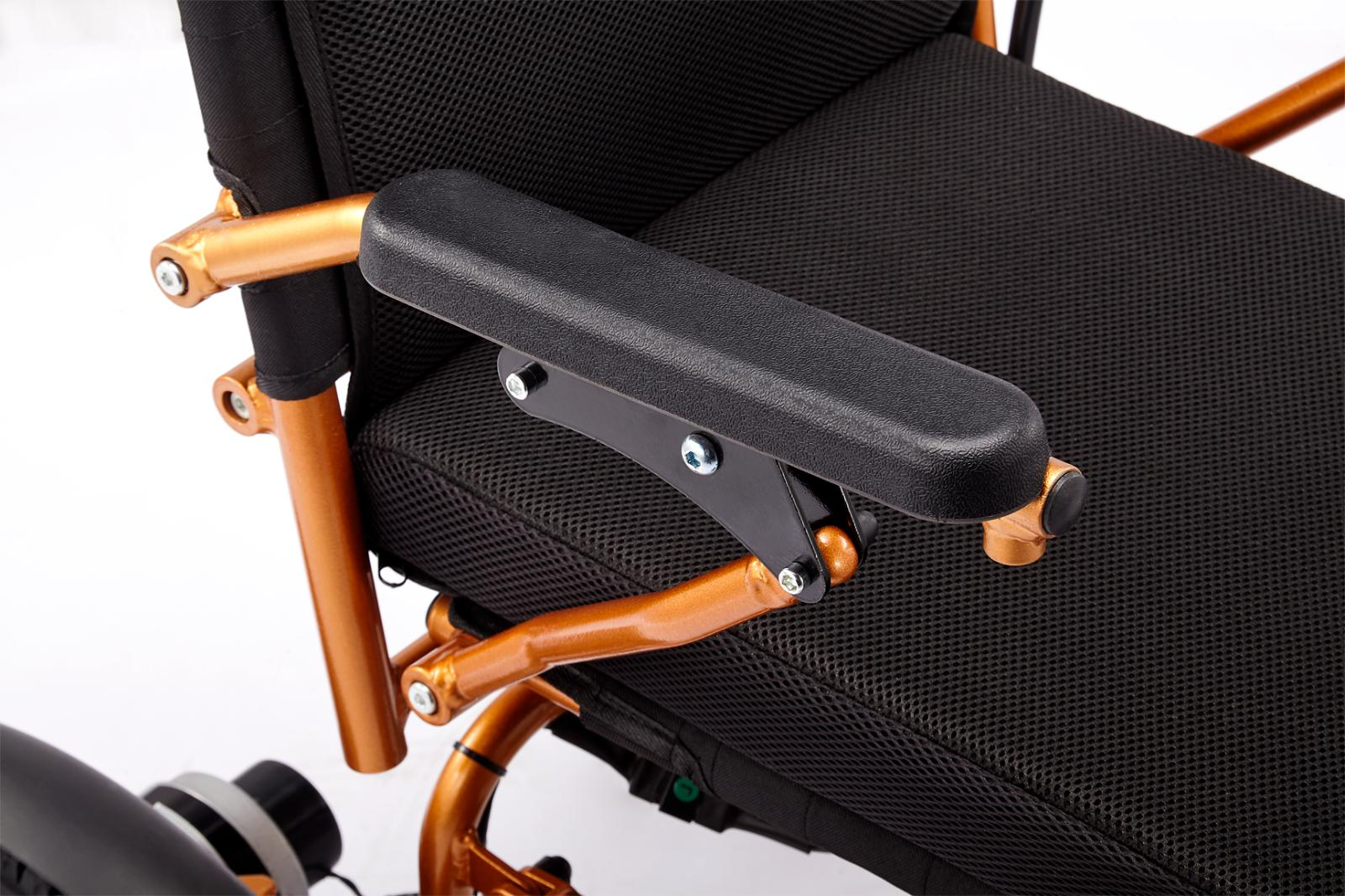 Mobile Electric Wheelchair Folds