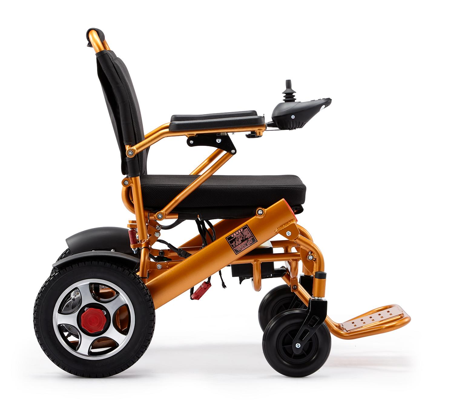 Mobile Wheelchair Electric Wheelchair Folds Lightweight Duty Chair