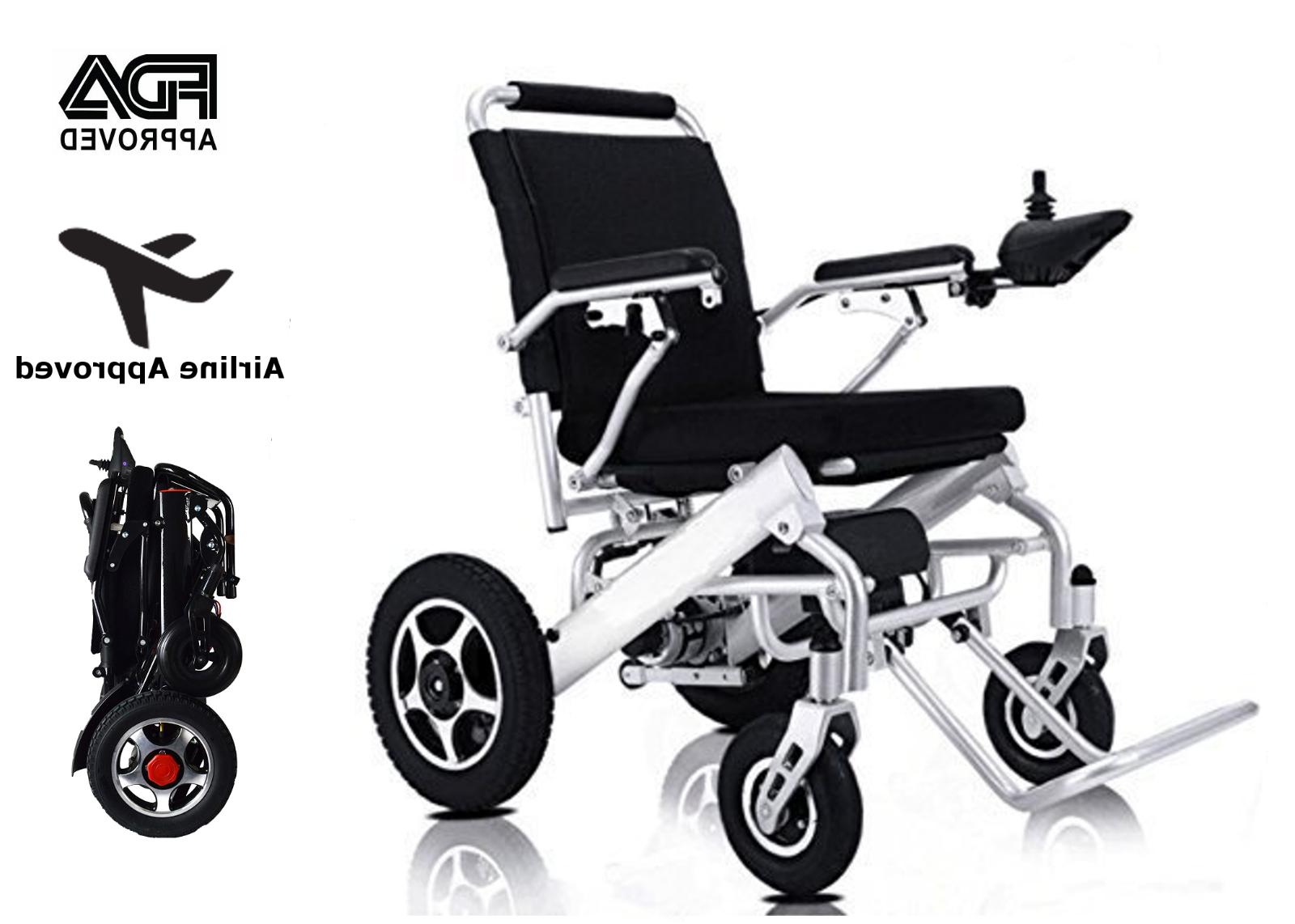 mobile wheelchair electric power wheelchair folds lightweigh