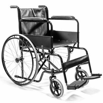 Mobility Transport lightweight Folding Wheelchair FDA