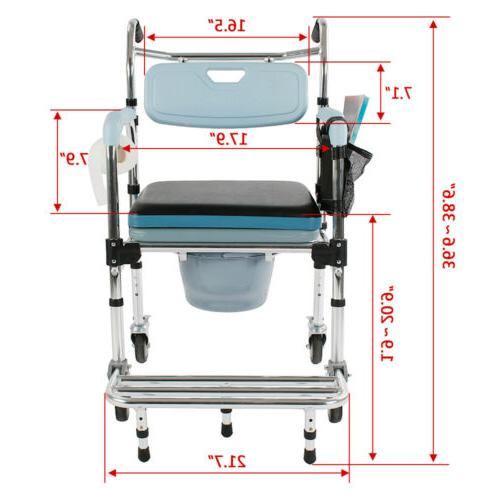 New Commode Shower Commode & Chair