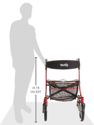 Style Rollator Red