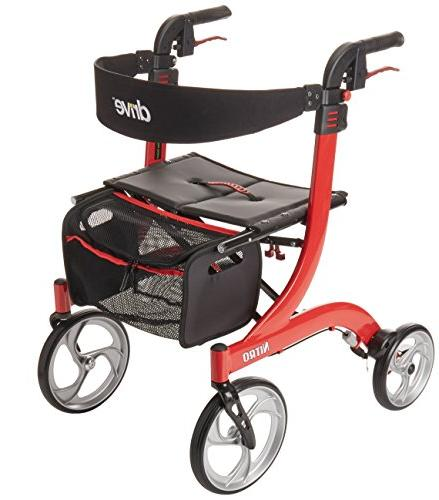 Drive Medical Nitro Style Red Red