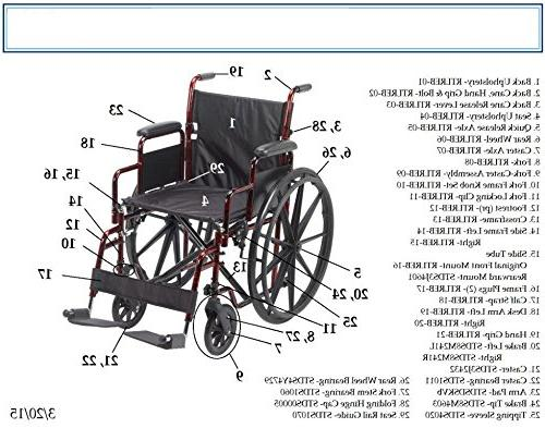 Drive Rebel Lightweight Wheelchair,
