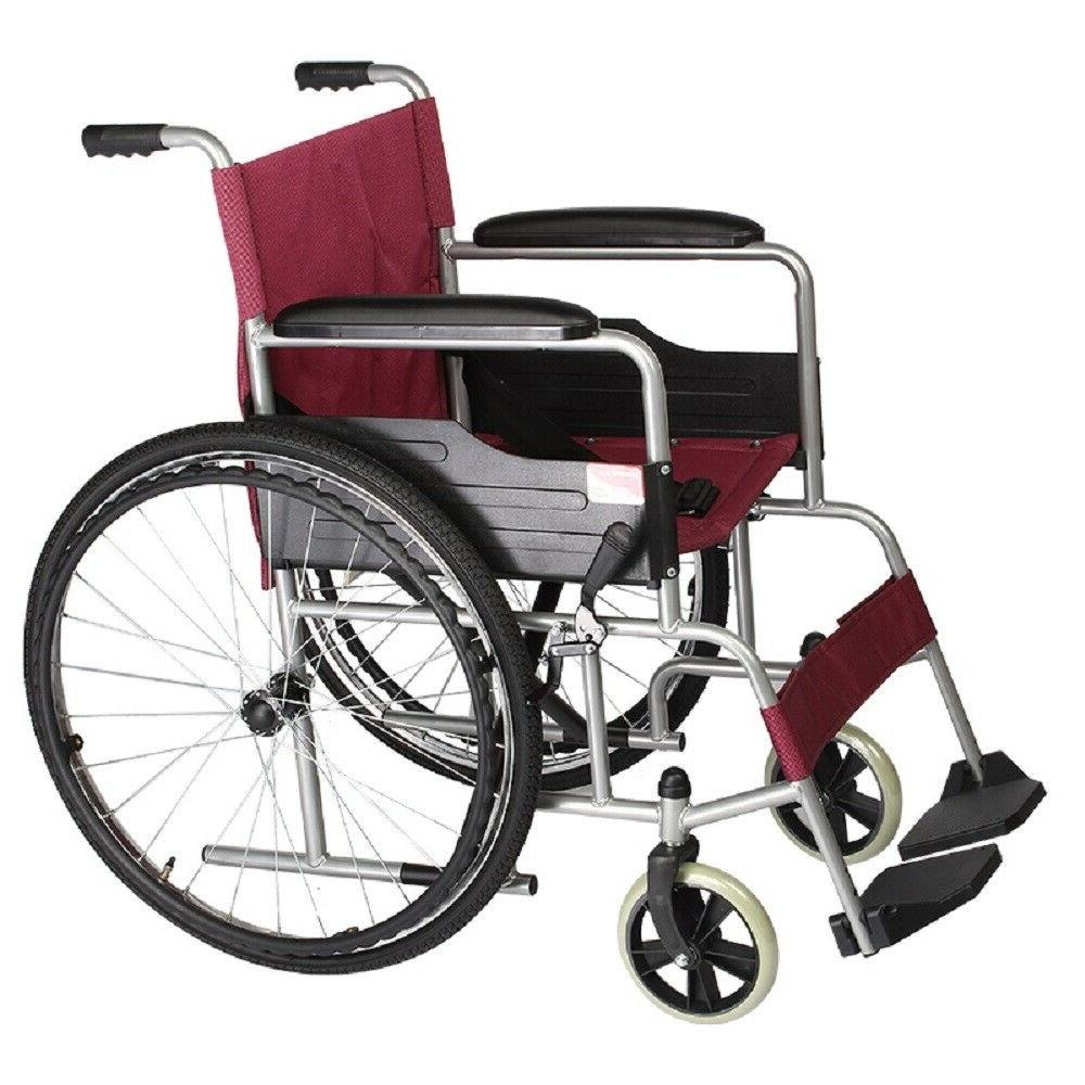 self propelled extra wide wheelchair with soft