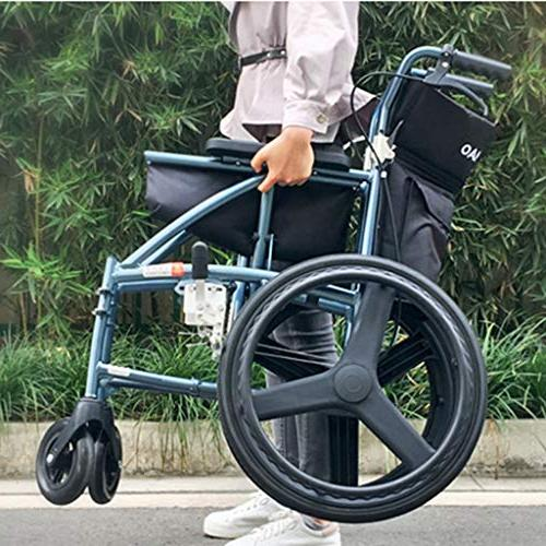Wheelchairs Multi-Purpose Lightweight Increase and Large Patients Elderly Bearing can Plane MedicalSupp