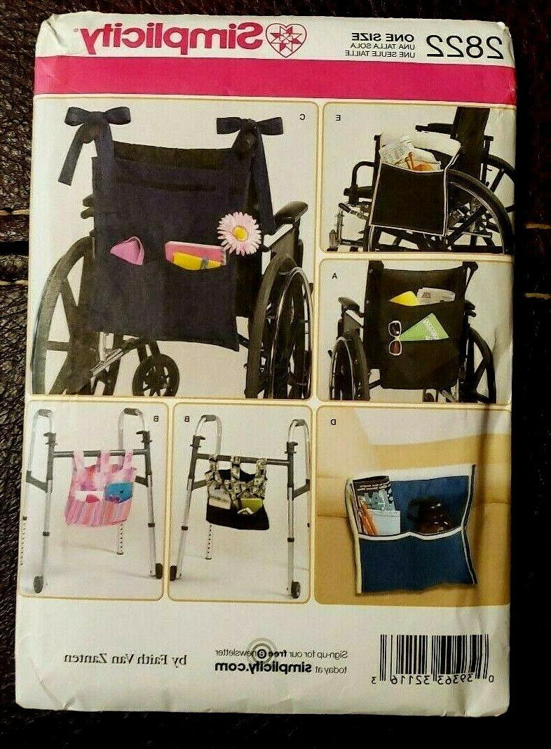 Simplicity Pattern for Wheelchair, &
