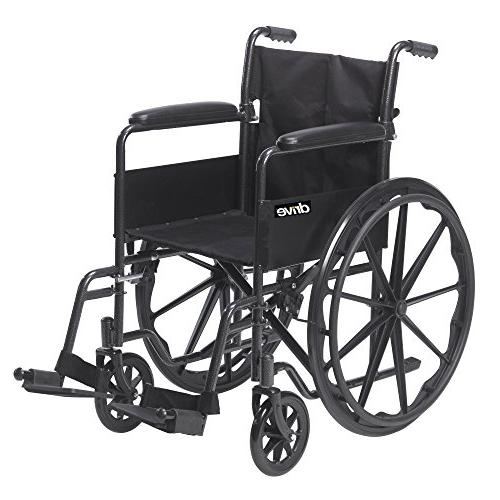 Drive Sport 1 Wheelchair with Full Arms and Swing away