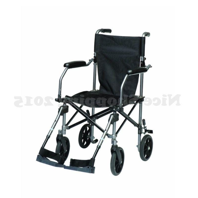 TC005GY Travelite Transport Wheelchair Chair in Bag