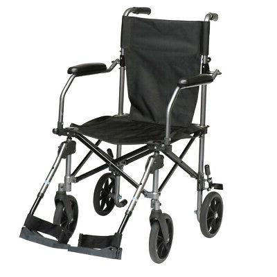 TC005GY - Travelite Transport Wheelchair Chair in a Bag