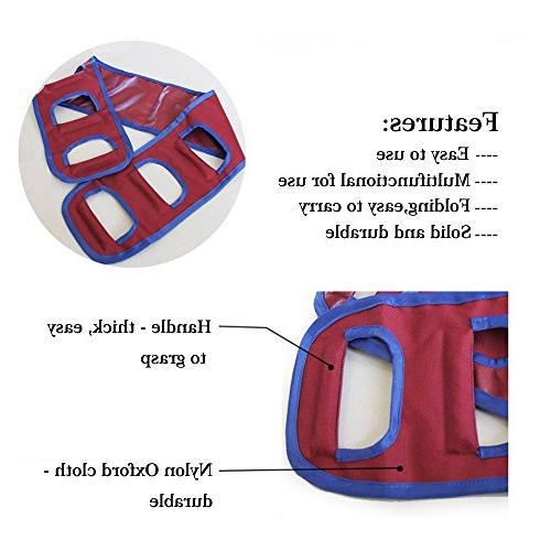 Transfer Belt Sliding Sling Safety Mobility Nursing Gait Belt for Elderly