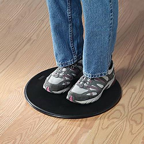 """Sammons Transfer and Pivot Disc, 12"""" Weight Transfer Device Mobility with Degree Rotation Change in and Transferring"""