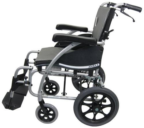 Karman Wheelchair with Companion Seat and Rear Silver