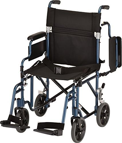NOVA Medical Transport/Wheelchair Detachable Blue